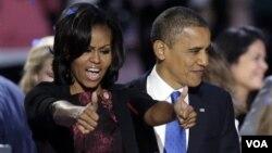 Prezident Obama va rafiqasi Mishel