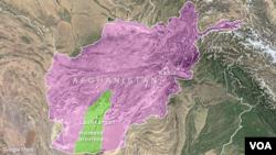 Kabul and Lashkargah, Afghanistan.