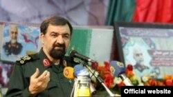 محسن رضایی، فرمانده سپاه و دبیر مجمع تشخیص مصلحت نظام ایران
