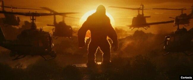 """Một cảnh trong """"Kong: Skull Island"""" quay tại Việt Nam"""