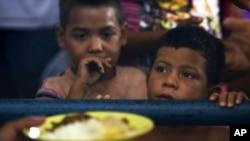 APTOPIX Brazil Venezuela Hunger Pangs