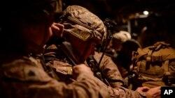 """Las tropas desplegadas son parte de la """"brigada lista"""" de la división 82 aerotransportada y se unirán a unos 750 soldados que ya se desplegaron en Kuwait el pasado jueves."""