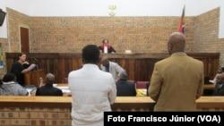 Lloyde Mabuza no tribunal