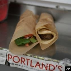 Viking Soul Food's lefse wraps, made with Norwegian potato flatbread