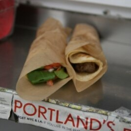 Viking Soul Food's lefse wraps, made with Norwegian potato flatbread