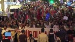 Kudüs Yürüyüşünde Mavi Marmara'da Ölenler Anıldı