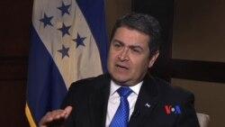 Entrevista con Juan Orlando Hernández, presidente de Honduras