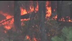 2013-08-27 美國之音視頻新聞: 山火威脅美國著名國家公園