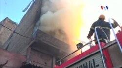 Incêndio destrói mercado ao ar livre em Nairobi