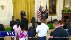 Ceremoni në Shtëpinë e Bardhë për amerikanët e rinj