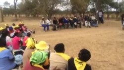 Zimbabweans Singing Zapu Song Urging People to Watch the Raging Black Bull