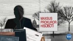 Maxsus prokuror hisoboti nimani hal qiladi?