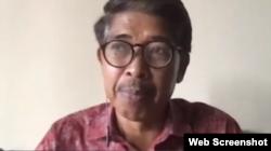 Pembimbing Kemasyarakatan Ahli Utama Ditjen Pemasyarakatan Kemenkumham Yunaedi. Foto: screenshoot