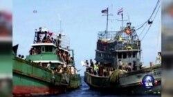 马来西亚出动船只搜寻被困难民