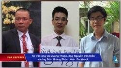 HRW kêu gọi VN phóng thích ba nhà hoạt động