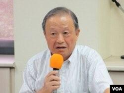 台灣投資中國受害者協會理事長高為邦 (美國之音張永泰拍攝)
