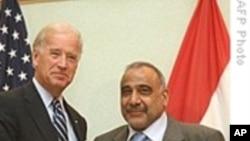 拜登在迫击炮袭击后会晤伊拉克官员