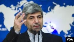 Jurubicara Kementrian Luar Negeri Iran, Ramin Mehmanparast (Foto: dok).