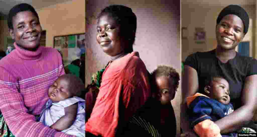 Some of the African women in Elizabeth Glaser Pediatric AIDS Foundation programs. Credit:James Pursey / EGPAF