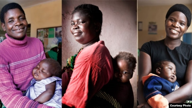 Some of the African women in Elizabeth Glaser Pediatric AIDS Foundation programs. Credit:James Pursey / EGPAF