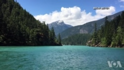美国万花筒:国家公园之旅--华盛顿州的最负盛名的山峰