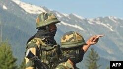 لداخ میں تعینات بھارتی فوجی (فائل)