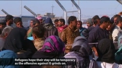 Mosul Refugees Face Uncertain Future in Camps
