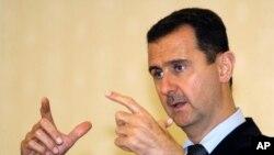 Presiden Suriah Bashar Assad