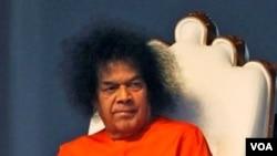 Tokoh spiritual India, Sathya Sai Baba (foto: dok) di masa hidupnya.