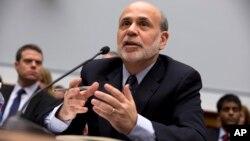 Ben Bernanke reiteró que todavía no ha llegado el momento de elevar las tasas de interés.