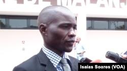 Mardanês Agostinho Calunga, secretário da UNITA, Malanje
