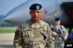 빈센트 브룩스 주한미군사령관 겸 한미연합사령관.