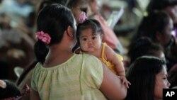 Sajam planiranja porodice na Filipinima povodom Svetskog dana stanovništva, 11. jul 2012.