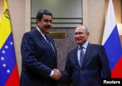 Nicolas Maduro i Vladimir Putin