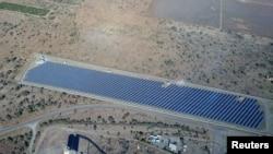 南非约翰内斯堡的一个太阳能中心