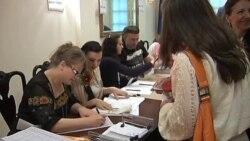 Украинцы проголосовали в Нью-Йорке