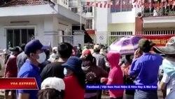 Quận Bình Tân: Dân đấu tranh đòi cứu trợ, chính quyền nhận sai   Truyền hình VOA 10/9/21