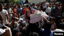 Migranti na grčkom ostrvu Kos