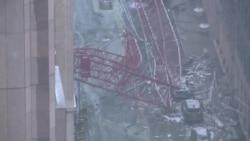 Au moins un mort dans l'effondrement d'une grue à New York