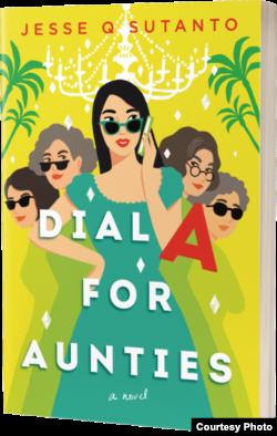 Novel 'Dial A for Aunties' adalah novel ke-sembilan yang ditulis Jesse Q. Sutanto, yang akan terbit pada April 2021 melalui penerbit Berkley, Penguin Random House.