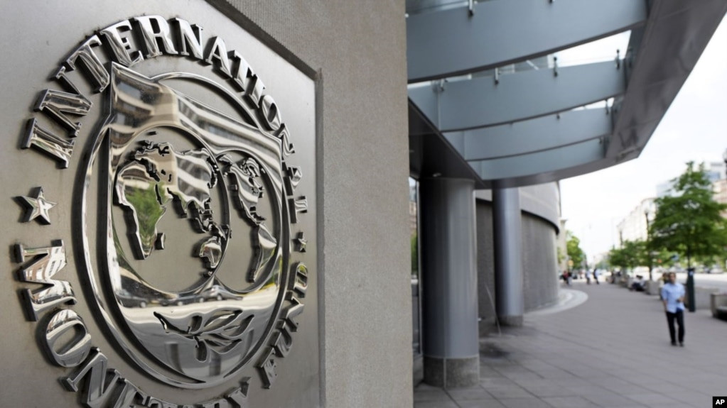 Trụ sở IMF ở thủ đô Washington DC.