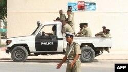 La police à Nouakchott, Mauritanie. 6 août 2008.