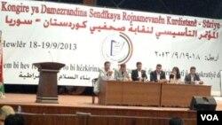 Kongra Rojnamevanên Rojava