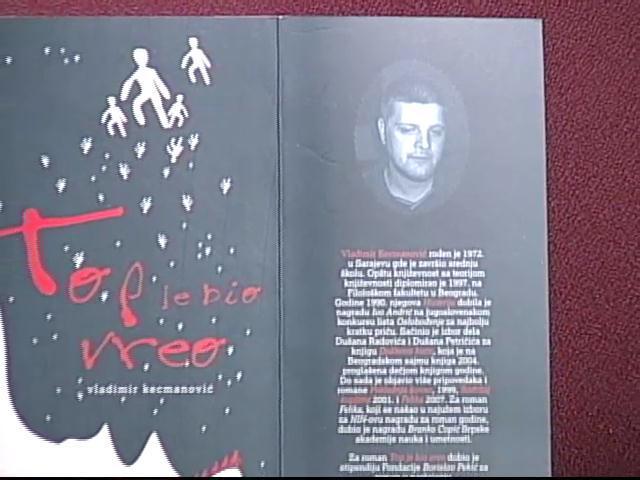 """Vladimir Kecmanović o svojoj knjizi """"Top je bio vreo"""""""