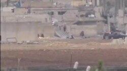 ادامه تلاش پیشمرگه های کردستان عراق برای کوبانی