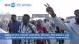 VOA60 Addunyaa - Sudan General Declares 'State of Emergency' in Coup Attempt