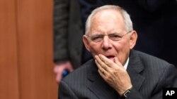Le ministre allemand des Finances, Wolfgang Schäuble.