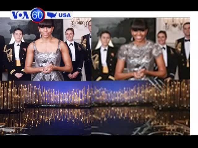 Iran thêm cổ và tay áo cho Đệ nhất Phu nhân Mỹ đêm Oscar