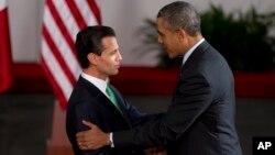 El gobierno de Enrique Peña Nieto, izquierda afirma que han habido avances en el tema de la seguridad y los secuestros.