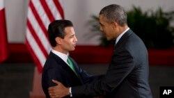Пенья Ньето и Барак Обама